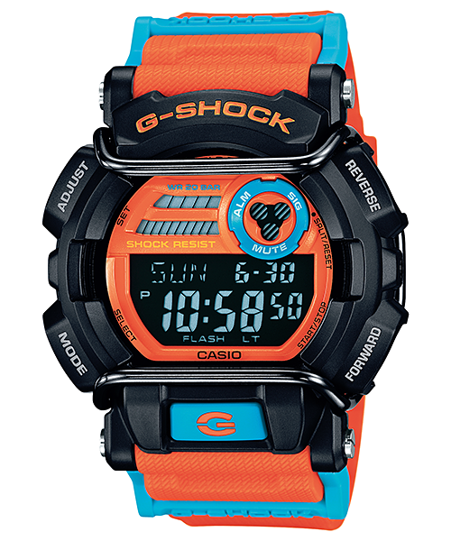 Casio G-Shock Digital GD-400DN-4DR Watch (New with Tags)