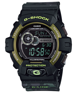Casio G-Shock G-Lide Camouflage GLS-8900CM-1DR Watch (New with Tags)