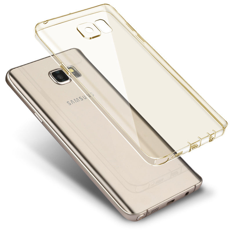 Samsung Galaxy Note 5 Silicone Cover (Gold)