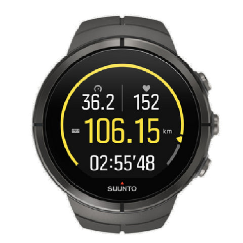 Suunto Spartan Ultra Stealth SS022656000 Sport Watch with HR (Gray)