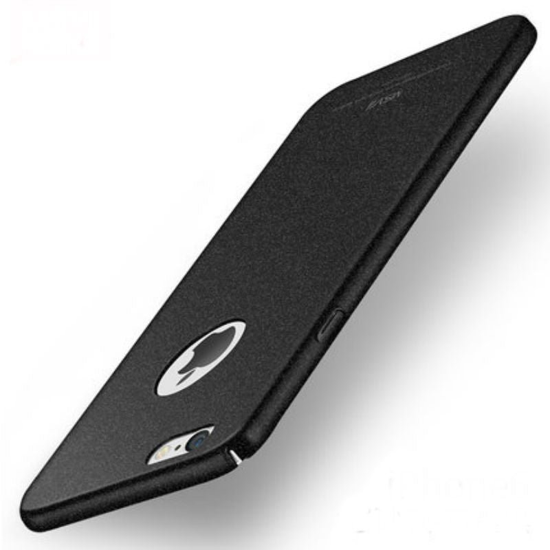 Hard Shell Matte Case 5.5 inch for iPhone 6/6s Plus (Graphite Black Rock Sand)