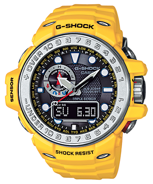 Casio G-Shock Gulfmaster GWN-1000-9ADR Watch (New with Tags)