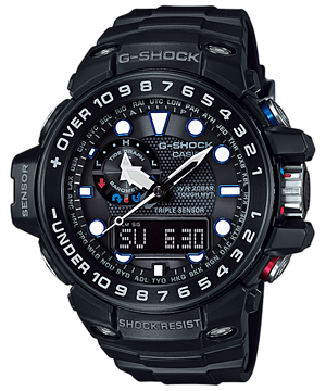Casio G-Shock Gulfmaster GWN-1000B-1ADR Watch (New with Tags)