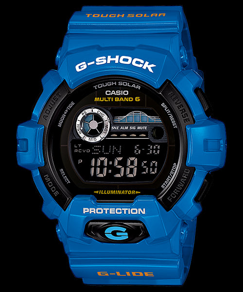 Casio G-Shock G-Lide Digital GWX-8900D-2DR Watch (New with Tags)