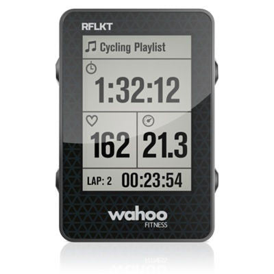 Wahoo Fitness RFLKT iPhone Powered Bike Computer Black