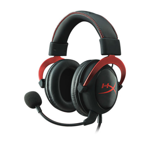 Kingston Hyper X Cloud II KHX-HSCP-RD Gaming Headset (Black Red)