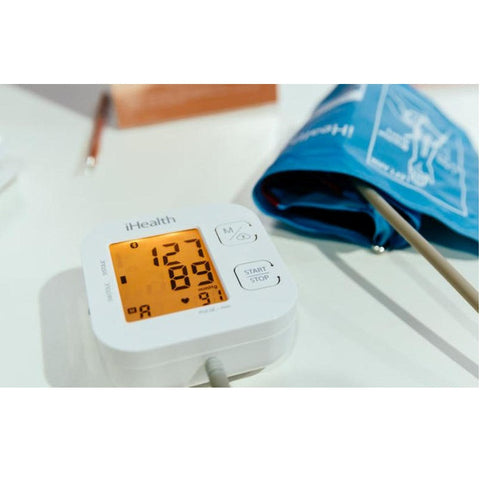 iHealth KN-550BT Track Connected Blood Pressure Monitor (White)