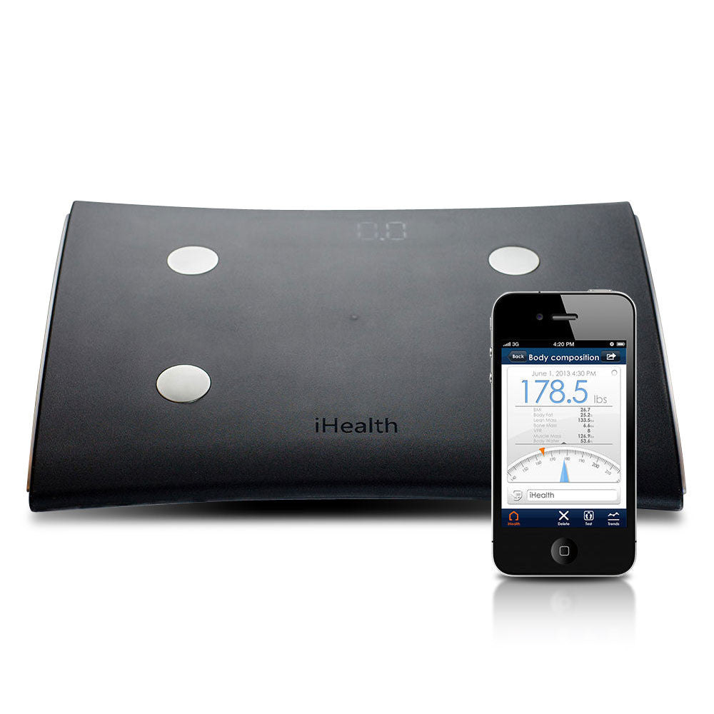 iHealth HS5 Body Analysis Scale (Black)