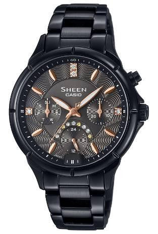 Casio Sheen SHE-3047B-1A Watch (New with Tags)
