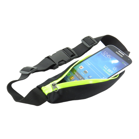 Running Pocket Belt Pouch Black