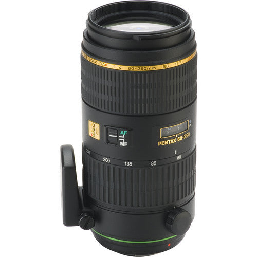 Pentax smc DA* 60-250mm f4.0 ED IF SDM Autofocus Black Lens