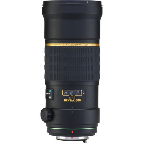 Pentax smc DA* 300mm f4.0 ED IF SDM Black Lens