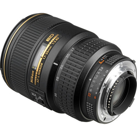 Nikon AF-S Zoom-Nikkor 17-35mm f2.8D IF-ED Lens