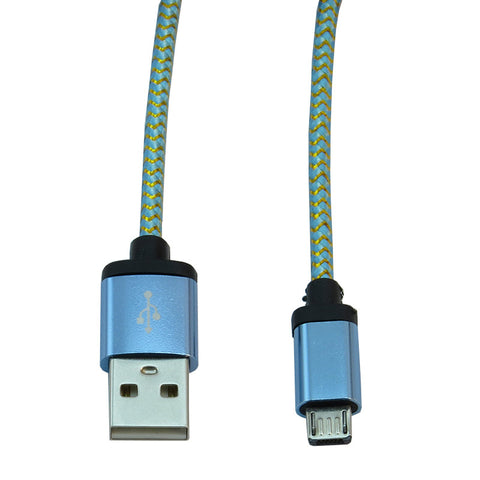 Micro USB 2m Cable (Blue)