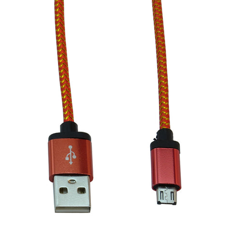 Micro USB 2m Cable (Red)