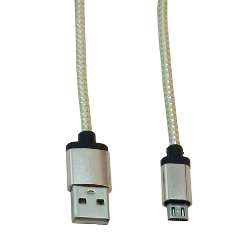 Micro USB 1m Cable (White)