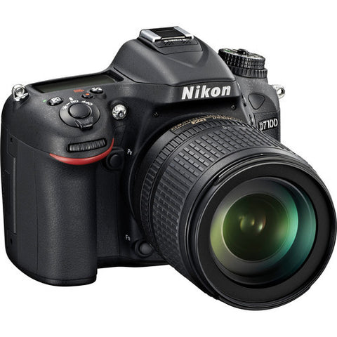 Nikon D7100 Kit with 18-105mm Lens Black Digital SLR Camera
