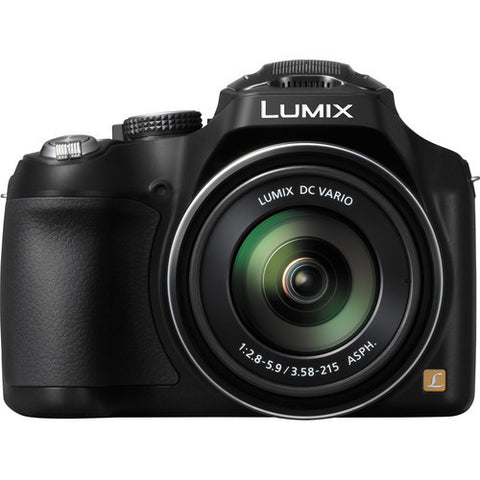 Panasonic Lumix DMC-FZ70 Black Digital Camera