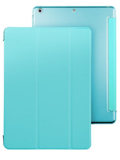 iPad Mini 1,2,3 Flip Cover with Hard Back Case (Breeze Blue)