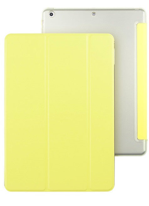 iPad Mini 1,2,3 Flip Cover with Hard Back Case (Vanilla Cream)