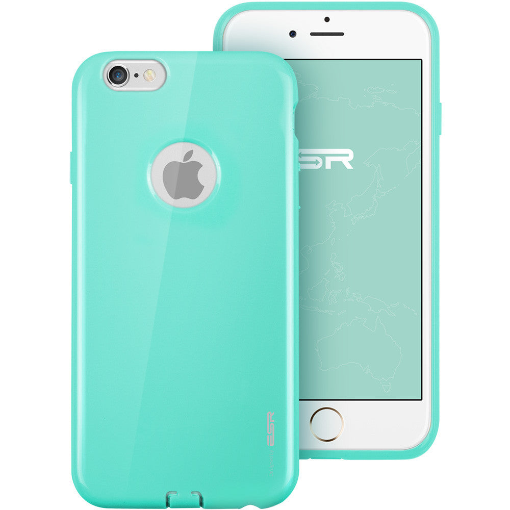 iPhone 6/6s Silicon Color Case (Mint Green)