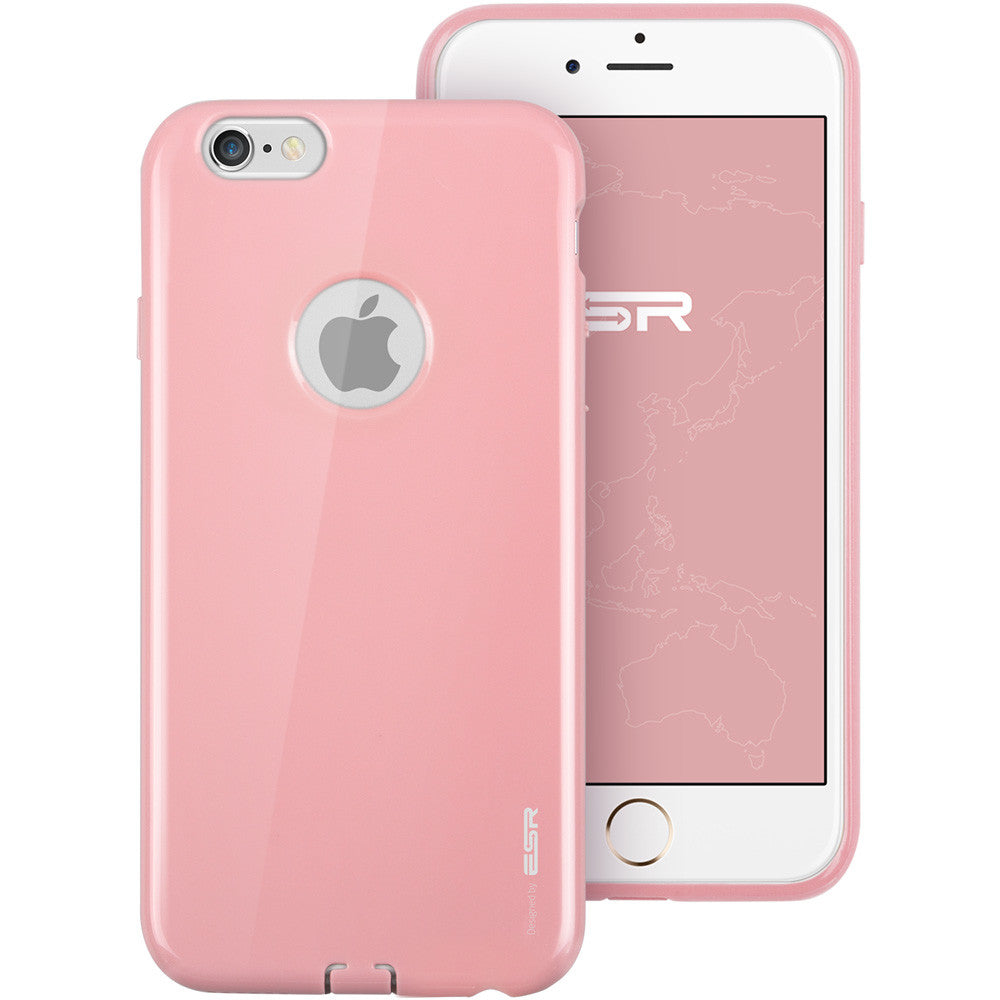 iPhone 6/6s Silicon Color Case (Peach Pink)
