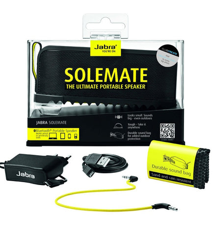 Jabra Solemate Mini Bluetooth and Speakerphone (Black)