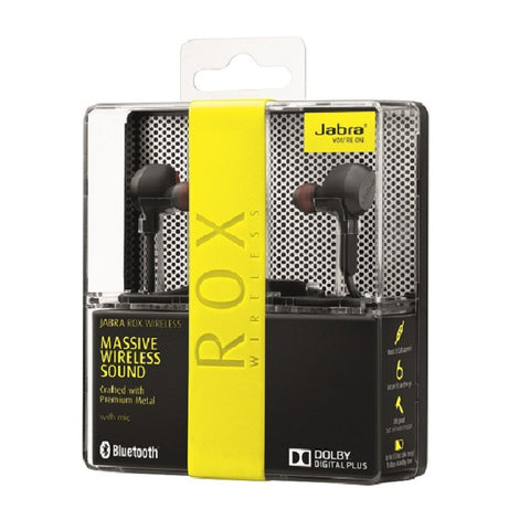 Jabra Rox Wireless Bluetooth Headset Black