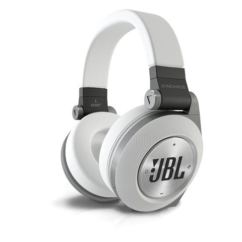 JBL Synchros E50BT Over-Ear Headphones (White)