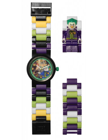 Lego DC Super Heroes The Joker Minifigure Link 8020240 Watch (New with Tags)