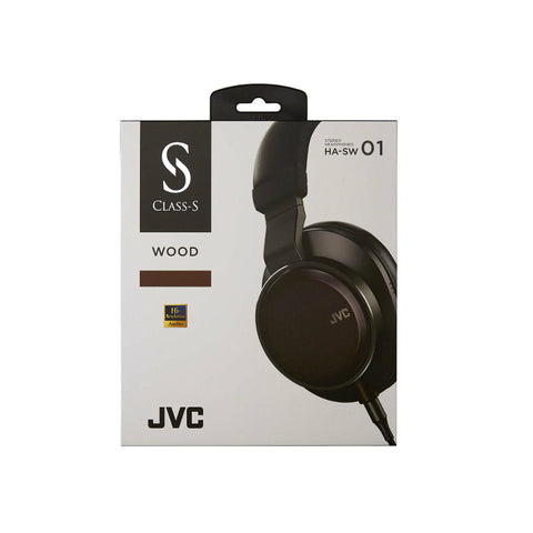JVC HA-SW01 Over-Ear Wood Dome Headphones