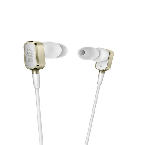 KEF M100 SP3875EA Earphones (Champagne Gold)