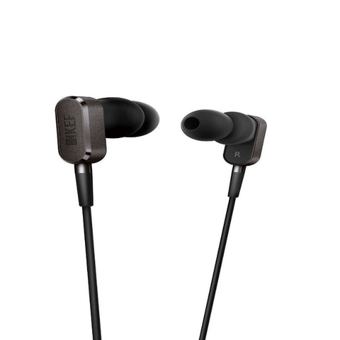 KEF M100 SP3875BA Earphones (Titanium Grey)