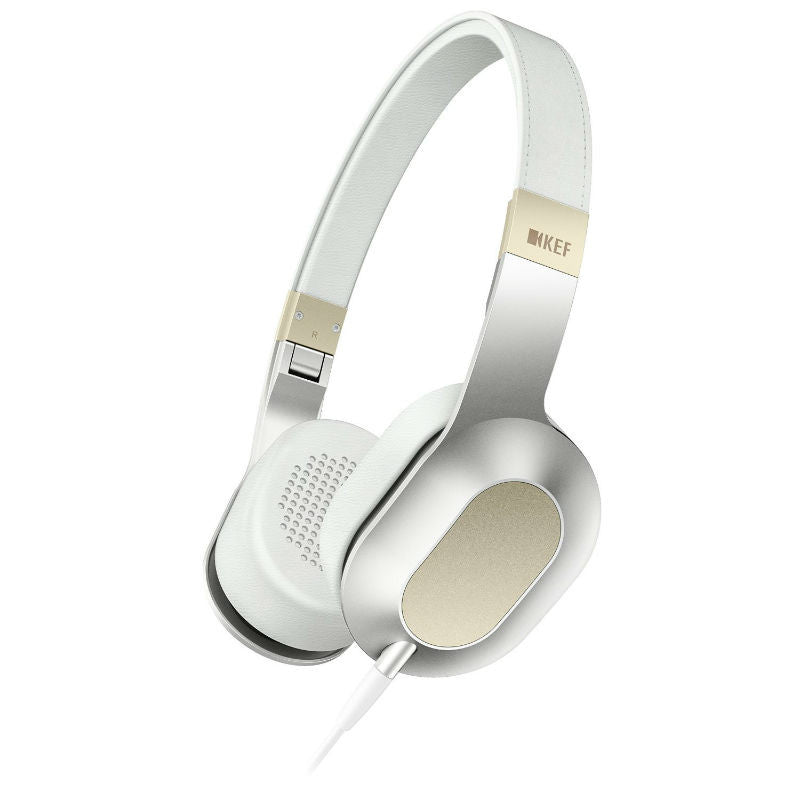 KEF M400 Headphones (Champagne White)