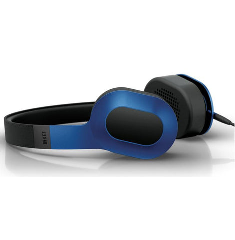 KEF M400 Headphones (Racing Blue)