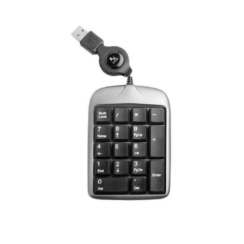 Portable USB Mini Notebook Digital Keypad