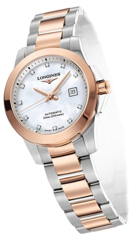 Longines Conquest L32765877 Watch (New with Tags)