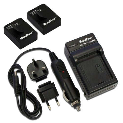 Maximal Power Single Charger AHDBT-301/201for GoPro