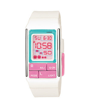 Casio Poptone Digital LDF-51-7CDR Watch (New with Tags)