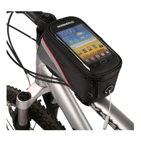 Outdoor 5.5 inches Bicycle Large Phone Bag Red