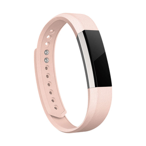 Fitbit Alta Leather Strap Only Large (Pink)