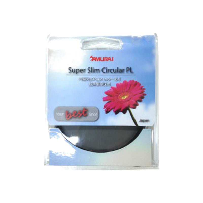 Samurai 82mm Super Slim Circular PL Filter