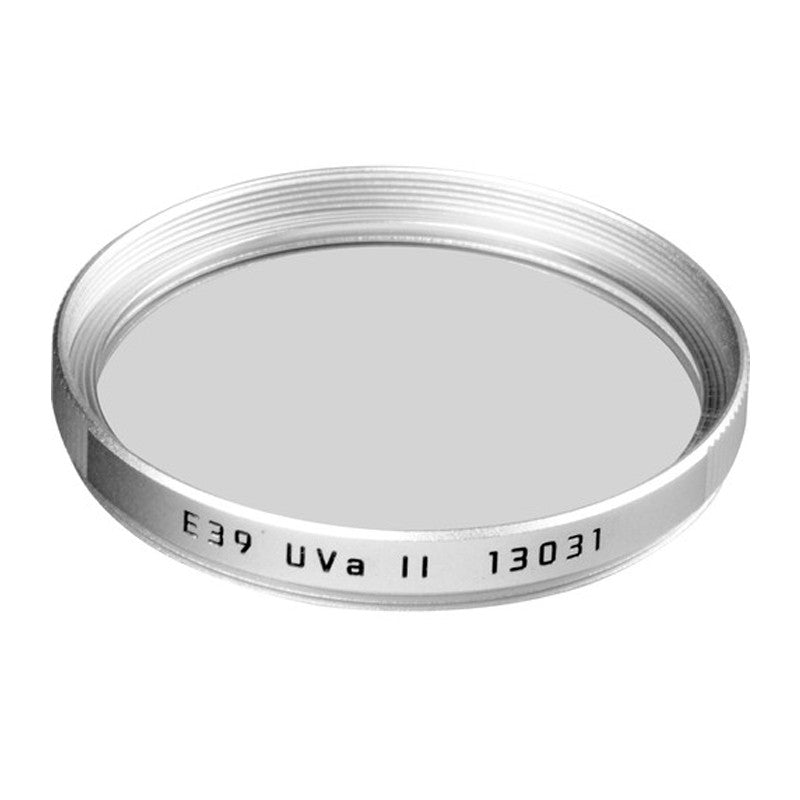 Leica E39 39mm UVa II Filter (Silver)