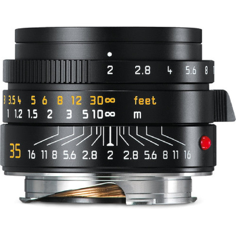 Leica Summicron-M 35mm f/2 ASPH Lens (Black)