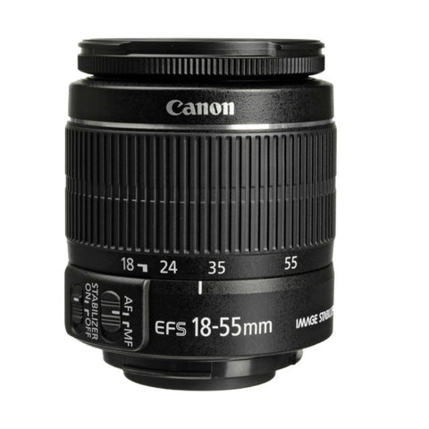 Canon EF-S 18-55mm f3.5-5.6 IS II Lens (White Box)