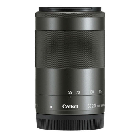 Canon EF-M 55-200mm f/4.5-6.3 STM Black Lens (White Box)