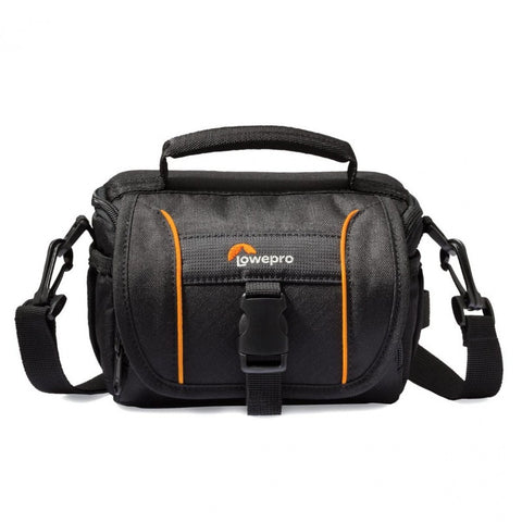 Lowepro Adventura SH 120 II Shoulder Bag for DSLR Camera with Lens (Black)