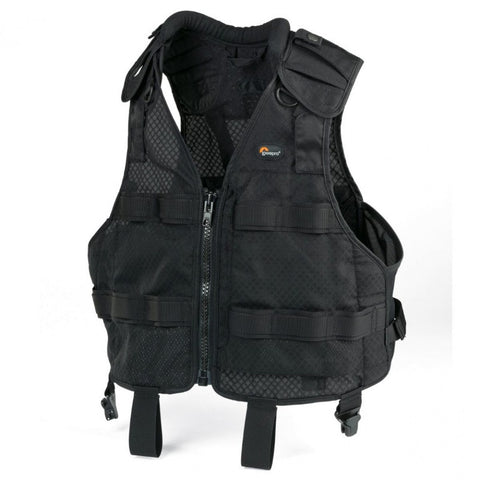 Lowepro S&F Technical Vest Belt L/XL for Photographers (Black)