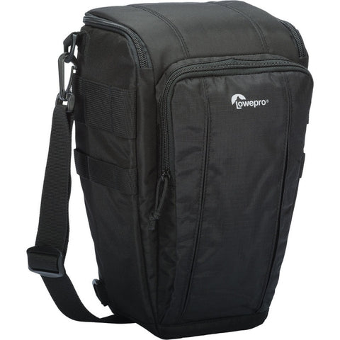 Lowepro Toploader Zoom 55 AW II Camera Case for DSLR and Lens (Black)