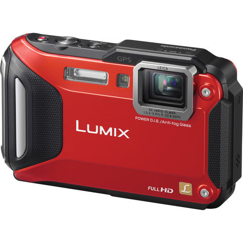 Panasonic Lumix DMC-FT6 Red Digital Camera